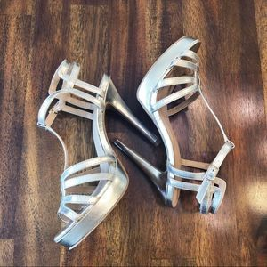 Brash | gold stiletto heels Size 8
